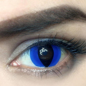 Blue Cat Eye Colored Contact Lenses