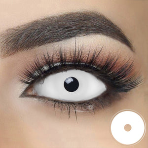 [Special Offer] White Sclera 22mm Colored Contact Lenses