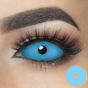 Blue Sclera Colored Contact Lenses