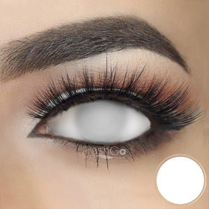 [Special Offer] Blind White Sclera 22mm Colored Contact Lenses
