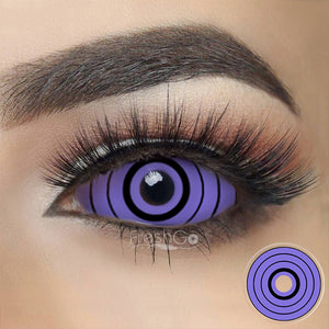 [Special Offer] Rinnegan Naruto Colossus Sclera 22mm Colored Contact Lenses