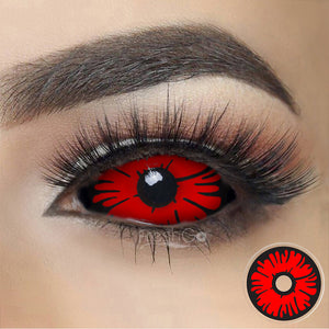 Devil Sclera Colored Contact Lenses