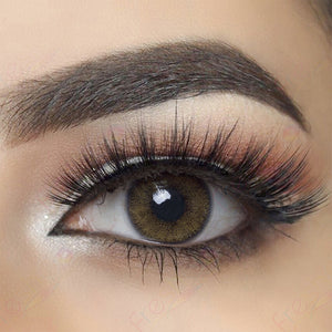 Nature Ocre Colored Contact Lenses