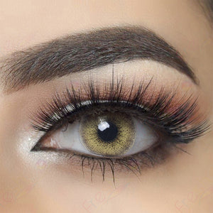 Ocean Brown Colored Contact Lenses