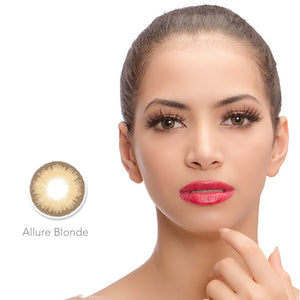 DIAMOND Allure Blonde - Colored Contact Lenses