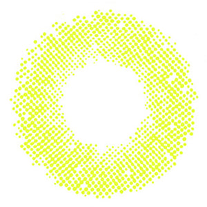Glow Lime Green Colored Contact Lenses