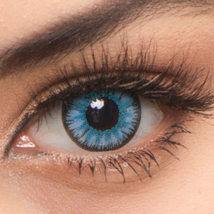 Radiance Blue Colored Contact Lenses
