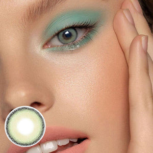 Mia Green Colored Contact Lenses