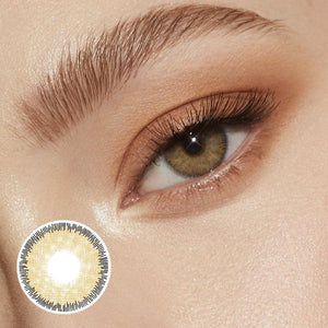 Premium Brown Colored Contact Lenses