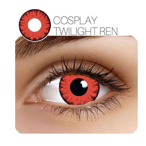 [US Warehouse] Twilight Cosplay Red Colored Contact Lenses