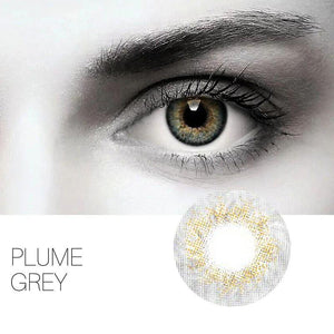 Plume Grey Colored Contact Lenses