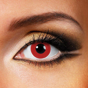 Pure Red Colored Contact Lenses