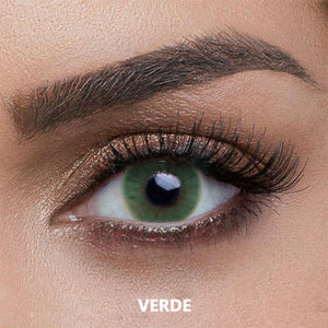 Verde Colored Contact Lenses