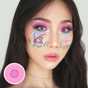 Rose Bloom Cosplay Colored Contact Lenses