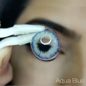 Pro II Prescription Blue (12 Month) Contact Lenses - StunningLens