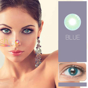 Blue Prescription Colored Contact Lenses