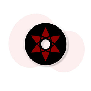 [Special Offer] Sasuke Mangekyou Sharingan Sclera Colored Contact Lenses