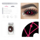 [Special Offer] Red Star Trails Sclera Colored Contact Lenses