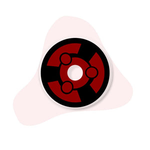 [Special Offer] Madara Uchiha Sclera 22mm Colored Contact Lenses