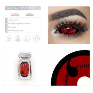 [Special Offer] Uchiha Sharingan Sclera 22mm Colored Contact Lenses