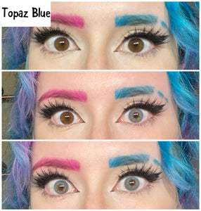 [US Warehouse] Topaz Blue Colored Contact Lenses