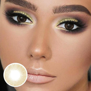 [US Warehouse] Lemon Cheese Colored Contacts Lenses