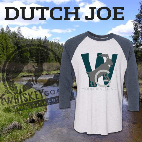 Dutch Joe 3/4 Sleeve Baseball Tee