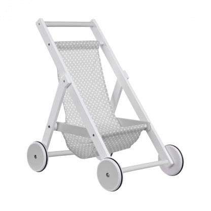 Toy Stroller in Grey - The Original Toy Shop
