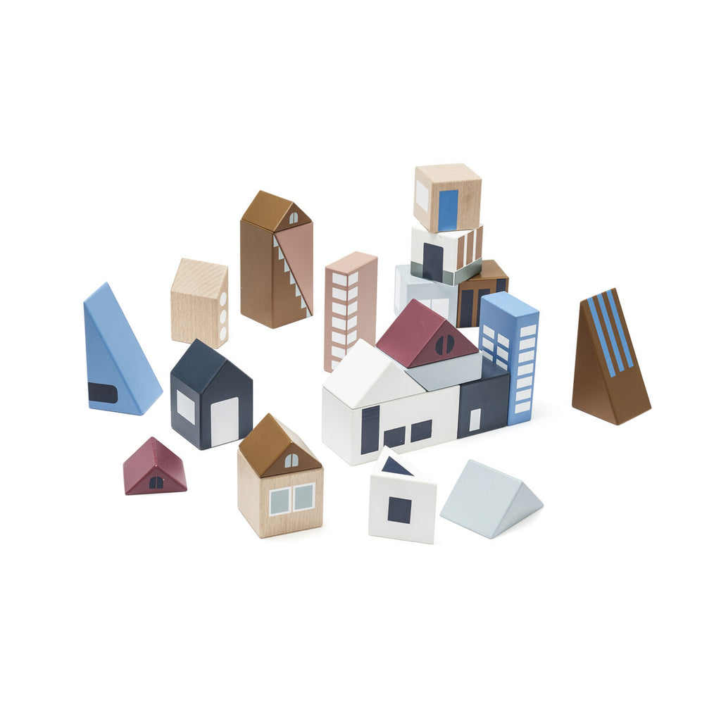 AIDEN City Wooden Blocks - The Original Toy Shop