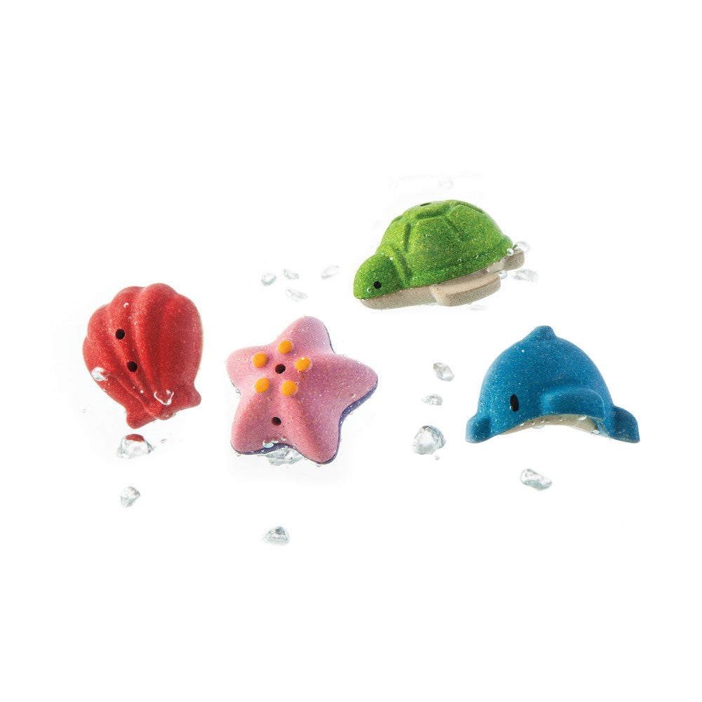 Sea Life Bath Set (Pk4) - The Original Toy Shop