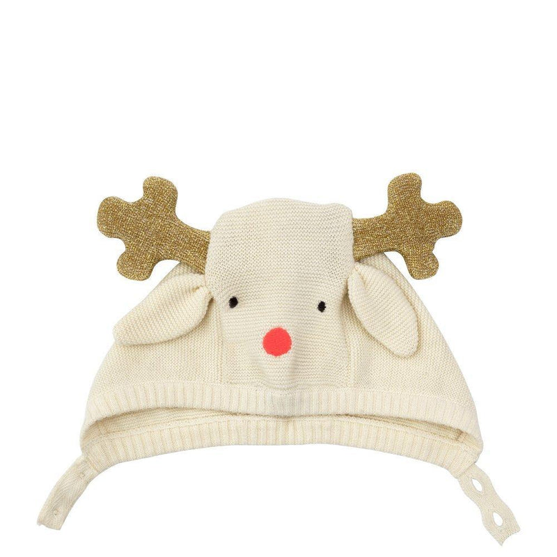 Reindeer Baby Bonnet - The Original Toy Shop
