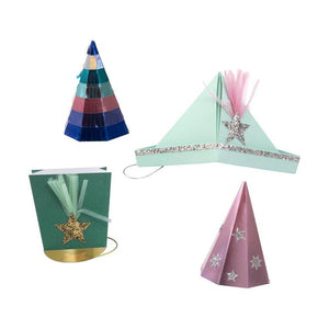 Festive Party Hats (Pk8) - The Original Toy Shop