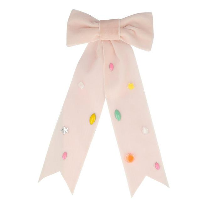 Pink Bow Hair Clip - The Original Toy Shop