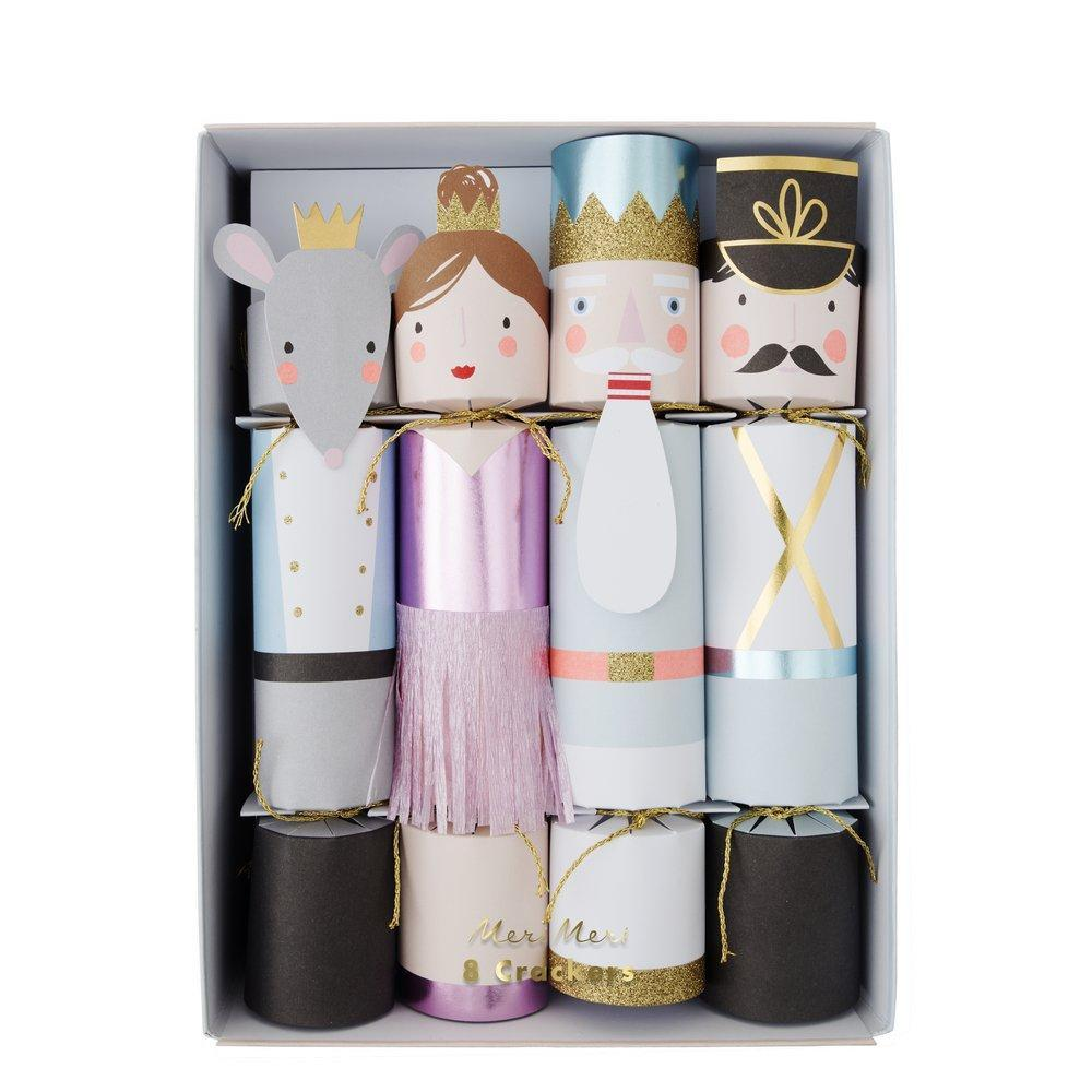 Nutcracker Christmas Medium Crackers (Pk8) - The Original Toy Shop
