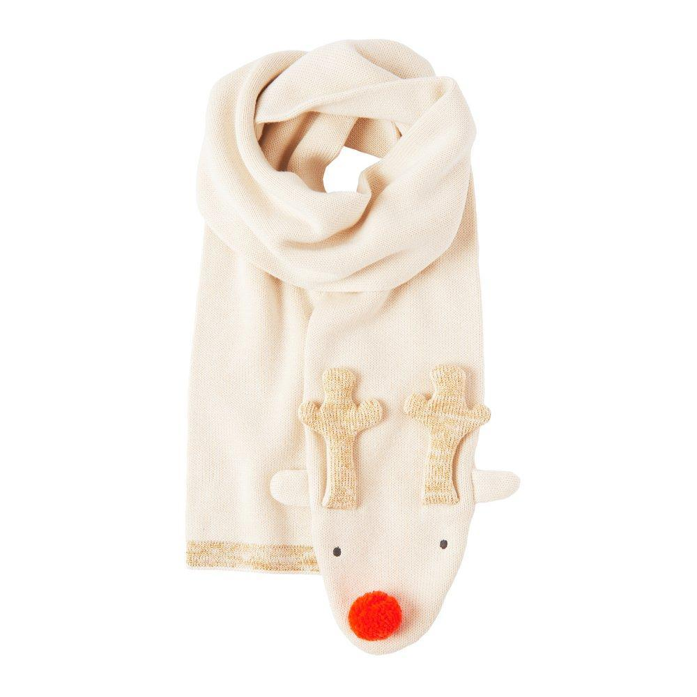 Knitted Reindeer Scarf - The Original Toy Shop