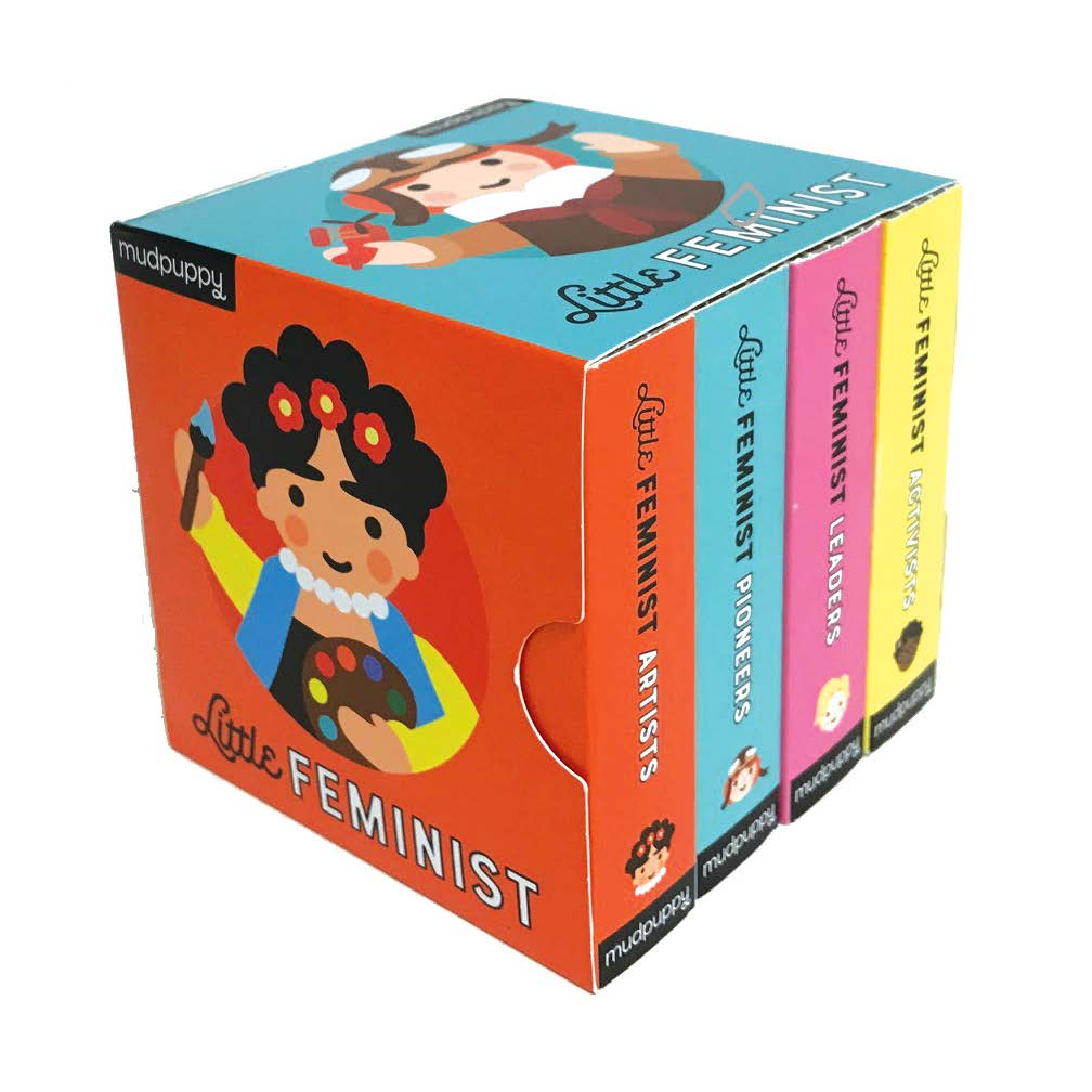 Little Feminist Board Book Set - The Original Toy Shop