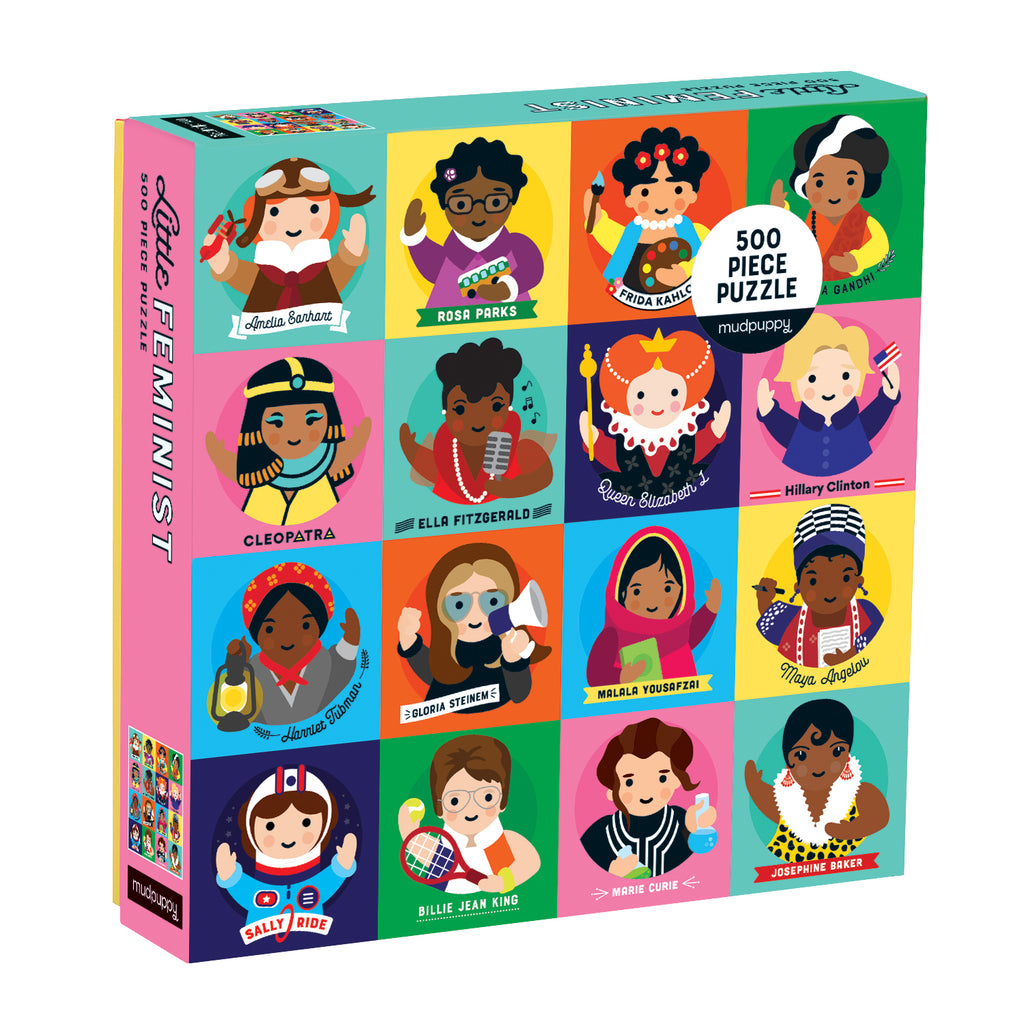 Little Feminist 500 Piece Puzzle - The Original Toy Shop