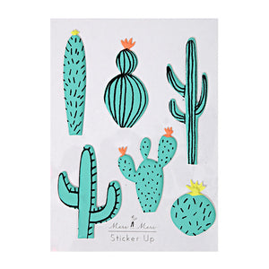 Puffy Cactus Stickers - The Original Toy Shop