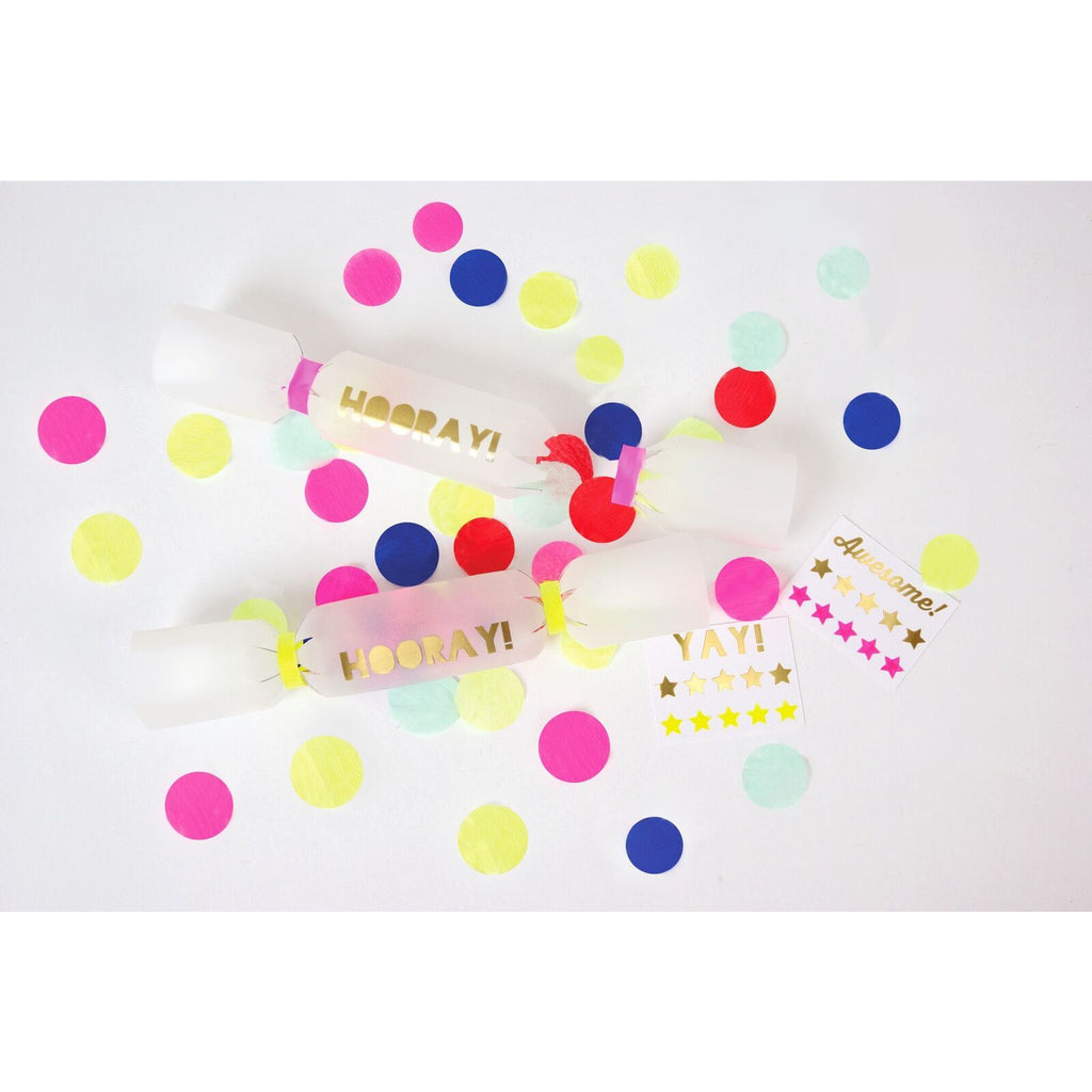Confetti Crackers (Pk6) - The Original Toy Shop