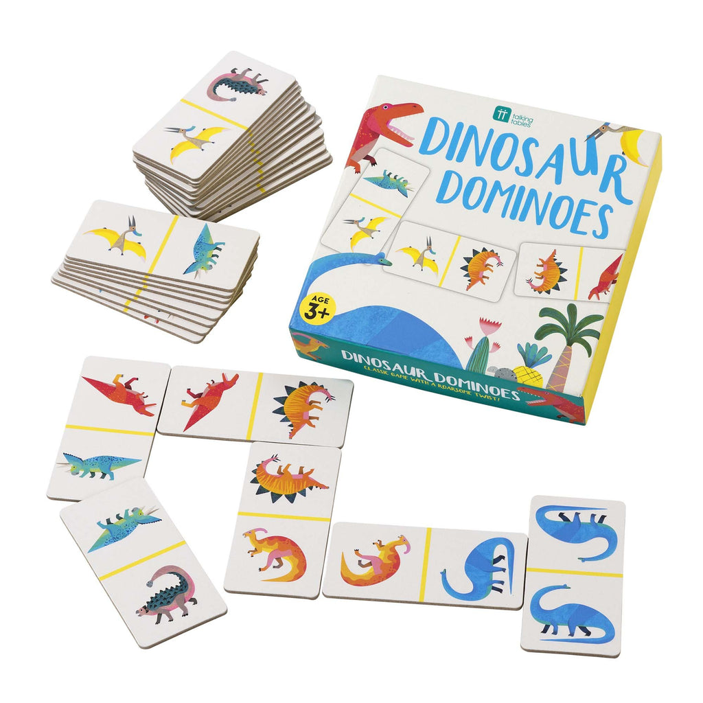 Dinosaur Dominoes Game - The Original Toy Shop