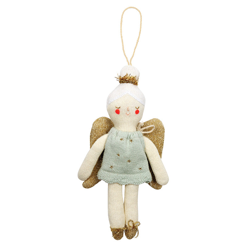 Knitted Angel Decoration - The Original Toy Shop