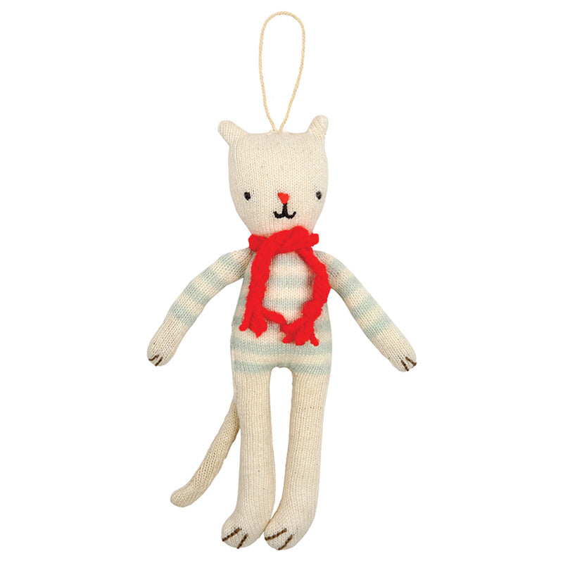 Knitted Cat Decoration - The Original Toy Shop
