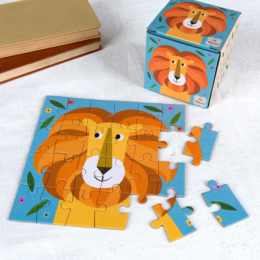 Charlie The Lion 24 Piece Mini Puzzle - The Original Toy Shop