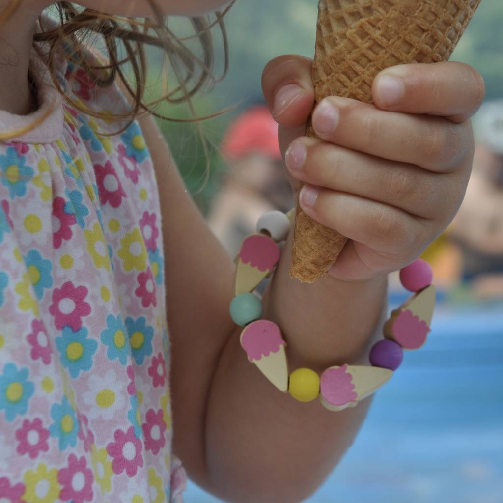 Make Your Own Ice Cream Bracelet Kit - The Original Toy Shop