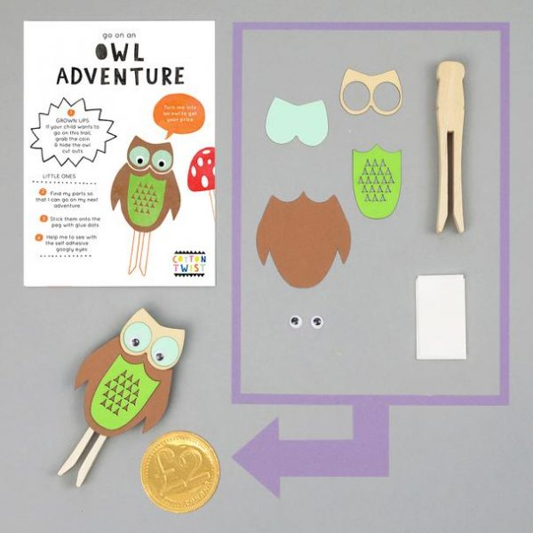Make Your Own Owl Peg Doll Kit - The Original Toy Shop
