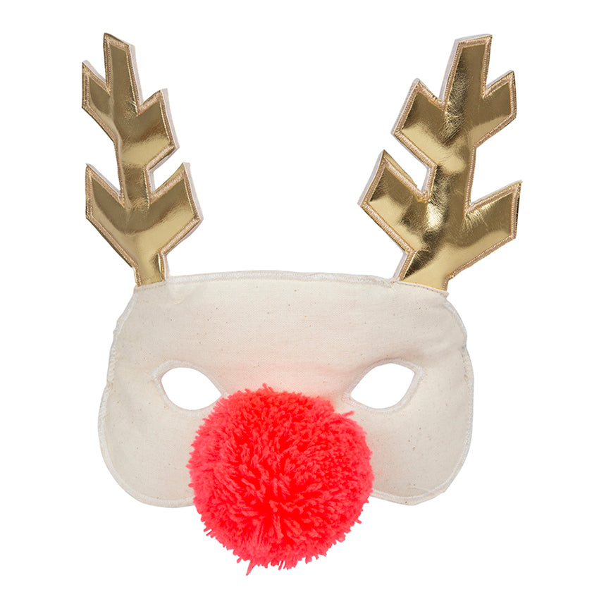 Reindeer Fabric Mask - The Original Toy Shop