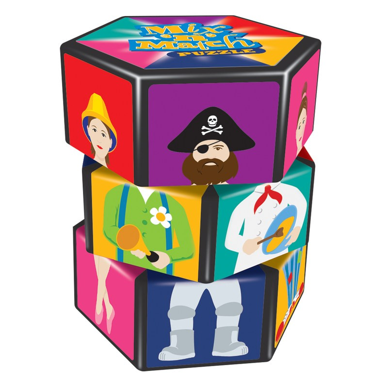 Mix & Match Puzzle - The Original Toy Shop