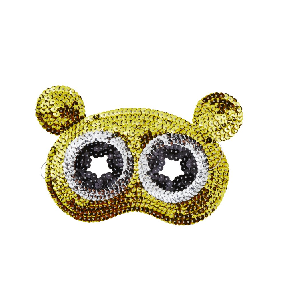 Sequin Bear Mask - The Original Toy Shop
