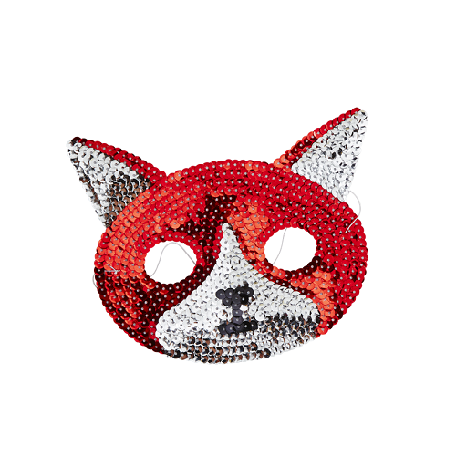 Sequin Fox Mask - The Original Toy Shop