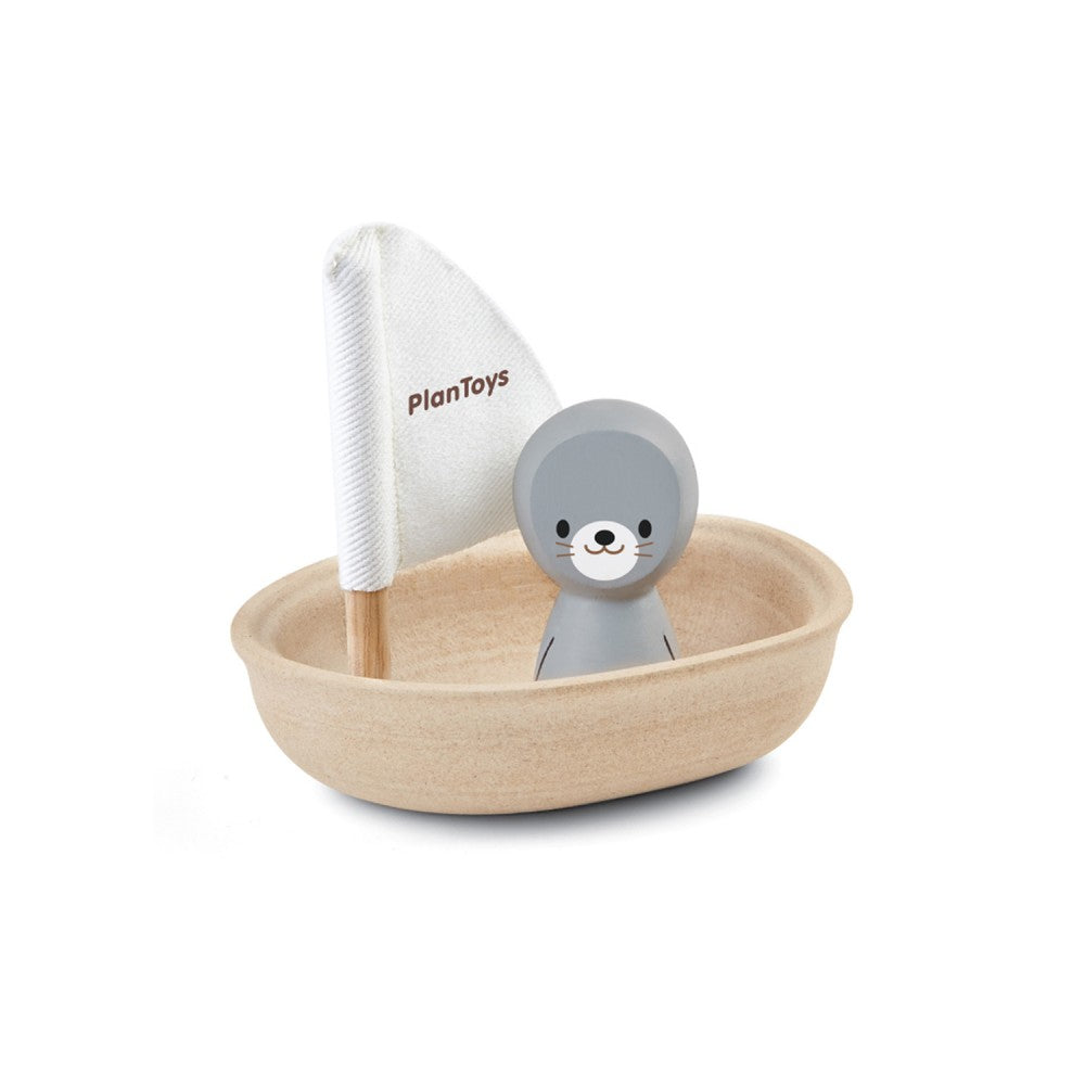 Sailing Boat with Seal - The Original Toy Shop